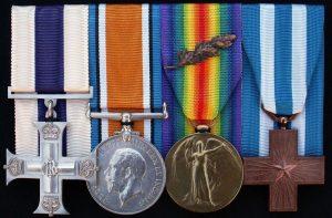 CAPT A WALES 5th ESSEX REGT BELGIUM 1917