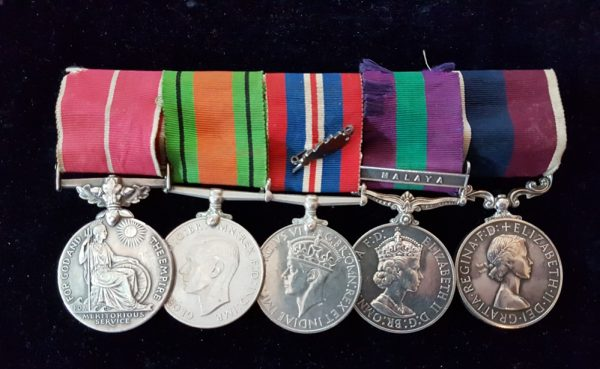 Royal Air Force Medal BEM Group