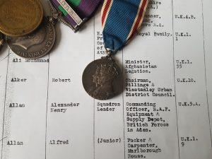 Coronation Medal Roll