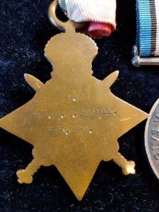 4 PTE. B. C. SAVILL 7TH Hussars.