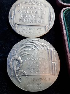 London School of Tropical Medicines Medals