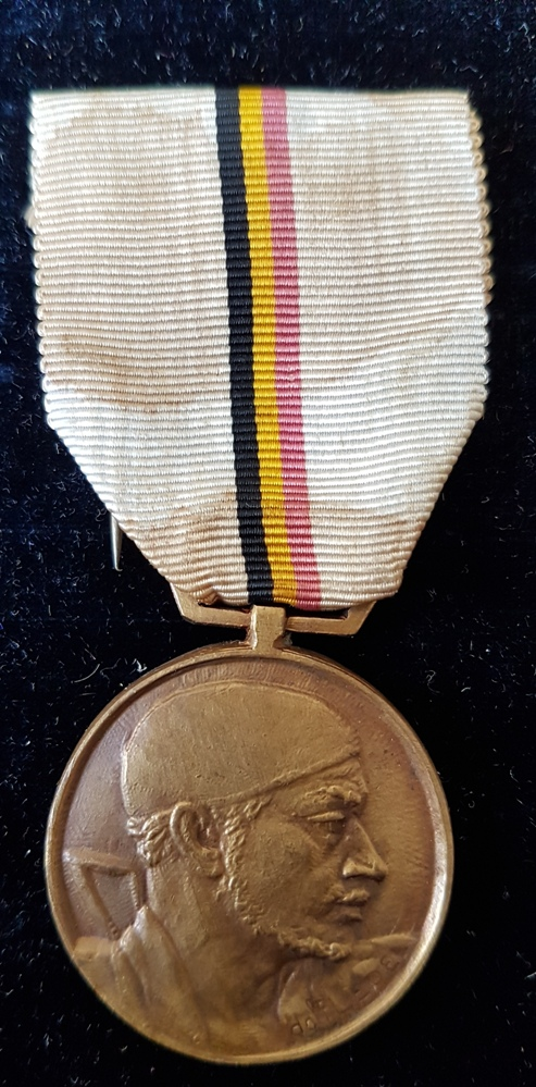 Belgian Movement Resistance Military Medal