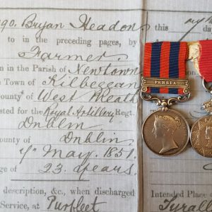 Headon Medal Pair