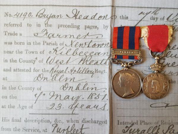 Headon Medal Pair