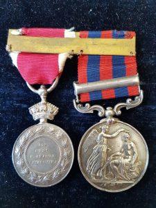 Abyssinia Medal Pair