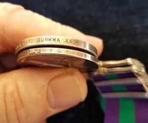 Brigade of Gurkhas Medal Pair