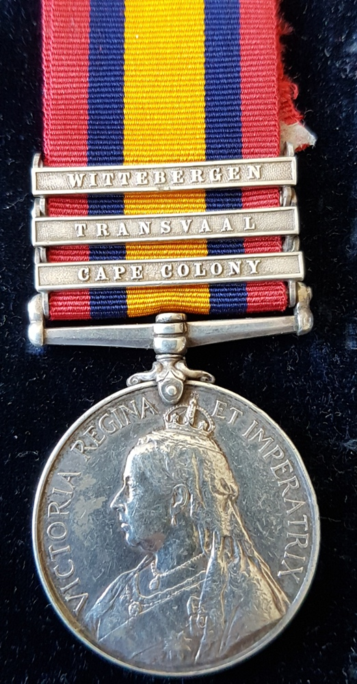 2154 Corporal George Mercer Manchester Regiment