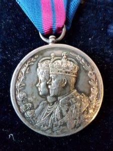 Delhi Durbar 1911 Medal
