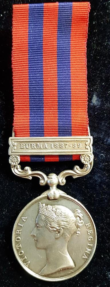 2nd Lt Gilbert Ward Johnson 19th Madras Infantry
