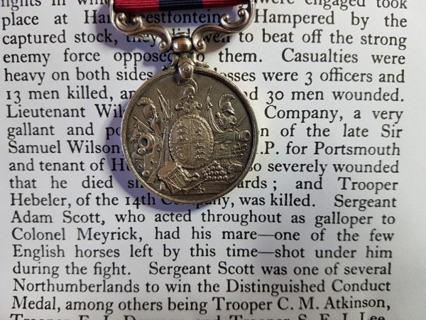 3218 Lce Sgt A Scott 5th Imperial Yeomanry