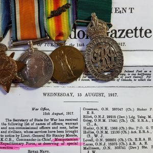 Patiala Rajinder Lancers and Indian Volunteer Forces Officers' Decoration Medal Group