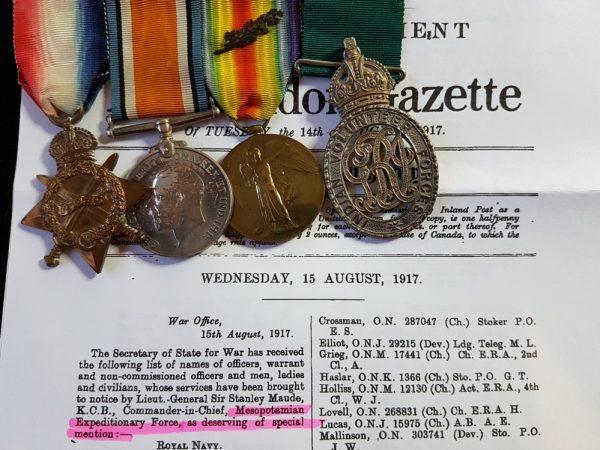 Patiala Rajinder Lancers and Indian Volunteer Forces Officers' Decoration Medal Group