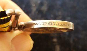 W. POLLARD BOY 1 CL H.M.S. AMETHYST 73-74