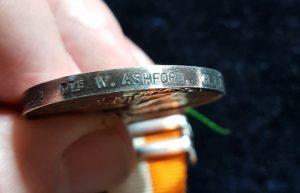 10560 PTE W. ASHFORD R.A.M.C.