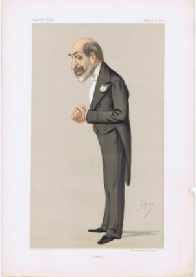 Sir Arthur Helps Vanity Fair Print