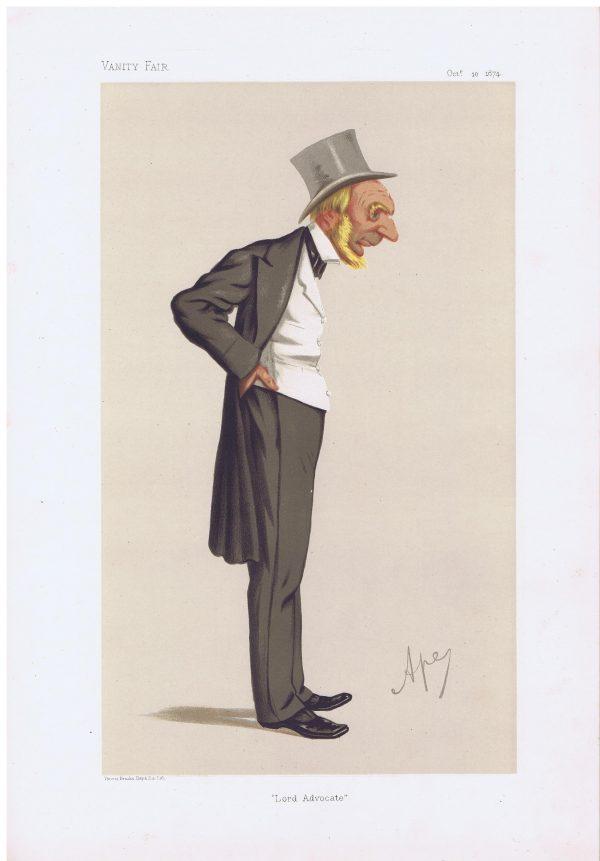 The Right Honourable Edward Strathearn Gordon