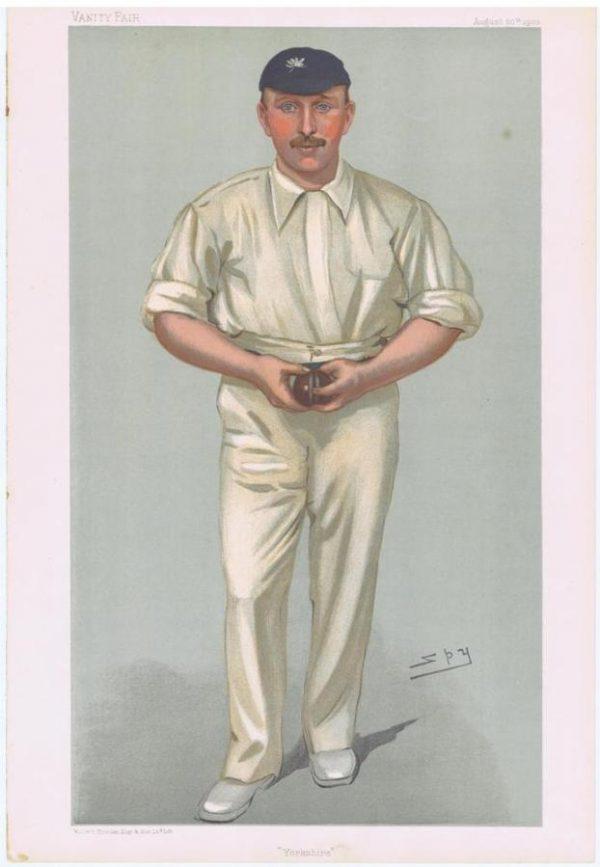 Vanity Fair Cricketer George Hirst
