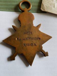 Joseph Titterton S/766 East Kent Regiment