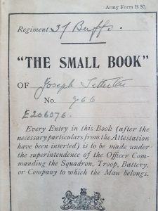 Soldiers Small Book of Joseph Titterton