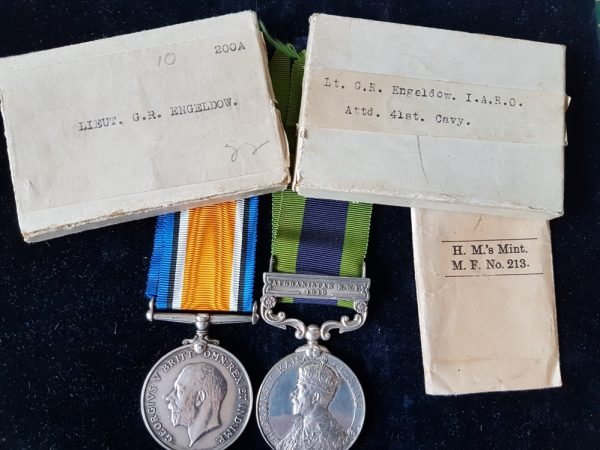 41st Indian Cavalry Medal Pair