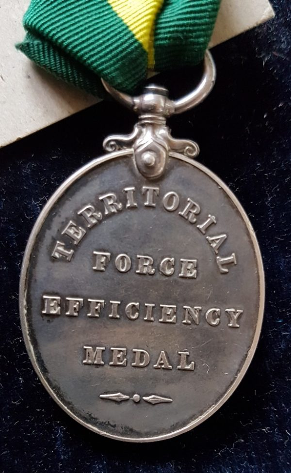 East Yorkshire Regiment Territorial Medal
