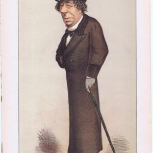 Benjamin Disraeli Cartoon
