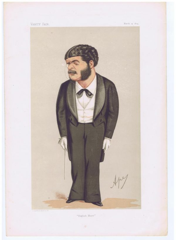 Composer Arthur Sullivan