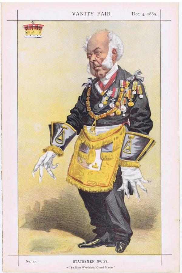 Thomas Dundas Vanity Fair Print