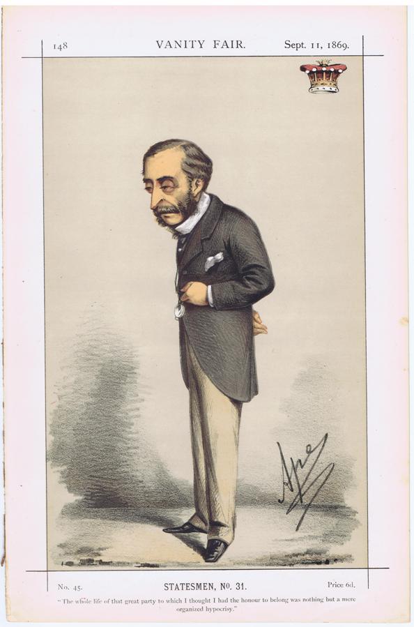 Henry Howard Molyneux Herbert Vanity Fair Print