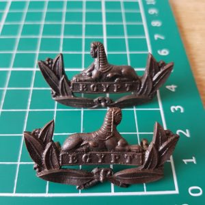 Gloucestershire Regiment Collar Badge Pair