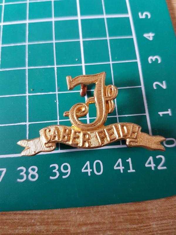 Seaforth Highlanders Regiment Scottish Collar Badge