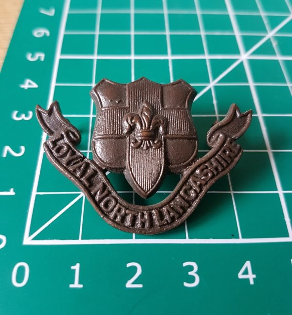 Loyal North Lancs Officers Badge