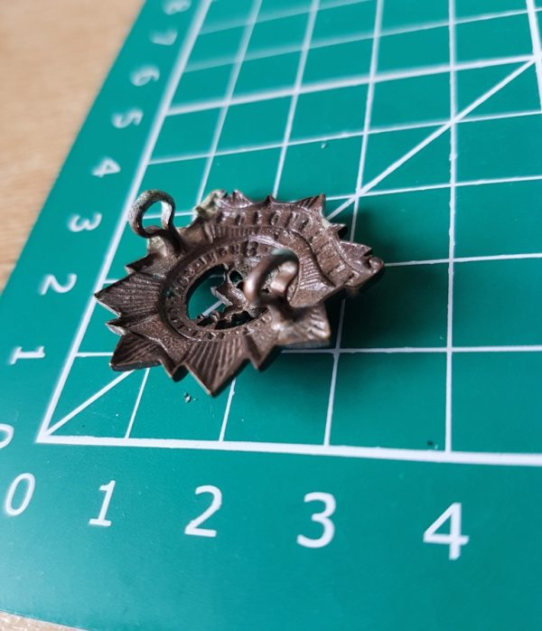 Bedfordshire Regiment Collar Badge