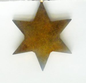 Tarbuck's Air Crew Europe Star reverse