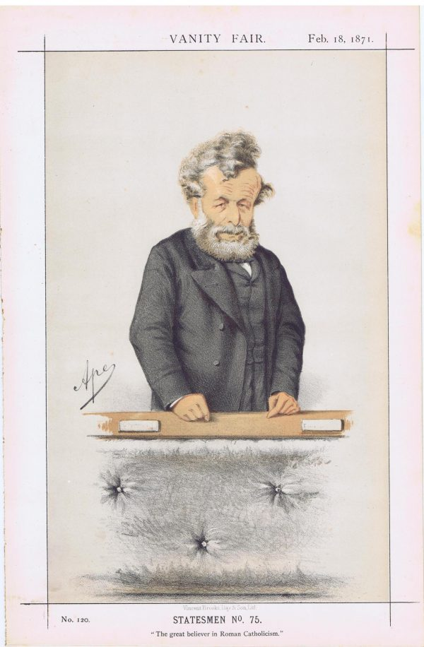 George Hammond Whalley Vanity Fair Print 1871