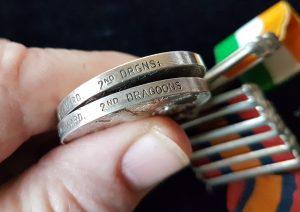 Royal Scots Greys Anglo Boer Medal Pair