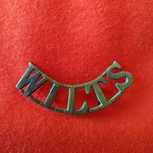 WILTS Wiltshire Regiment Shoulder Title