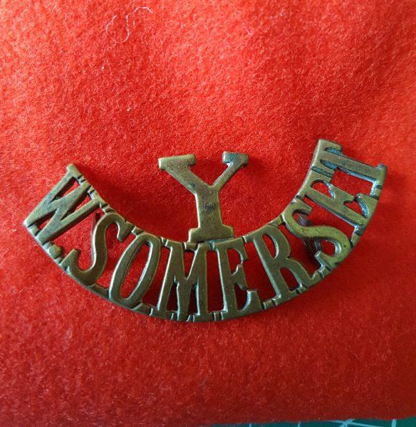 West Somerset Yeomanry Regiment Shoulder Title