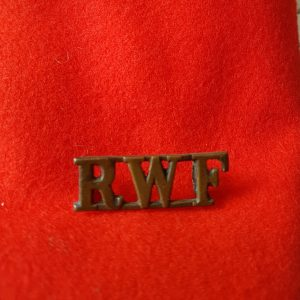 Royal Welsh Fusiliers Regiment Shoulder Title