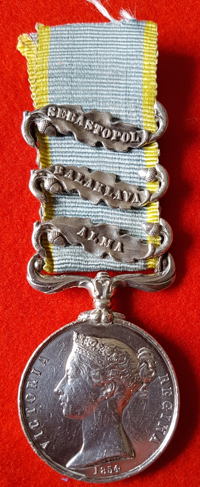 Crimea Medal Coldstream Guards Alma, Balaklava and Sebastopol