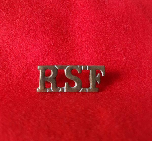 Royal Scots Fusiliers Shoulder Title