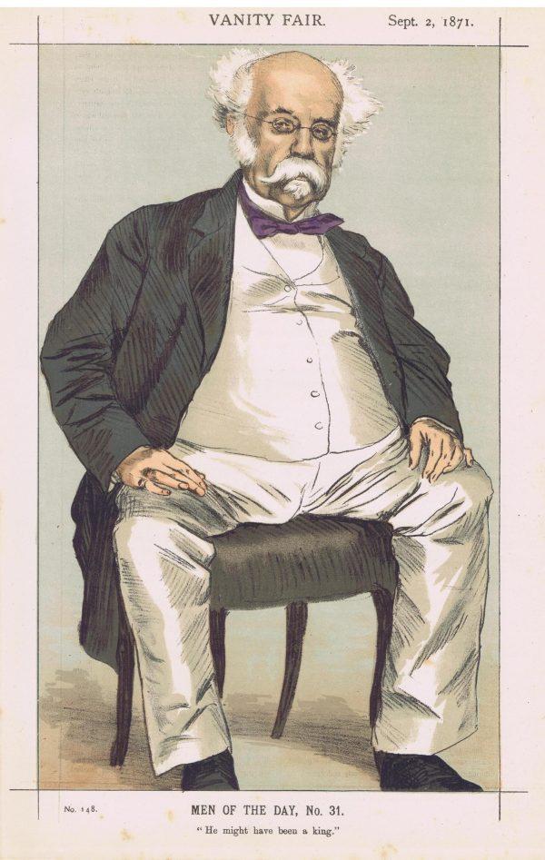 The Duke of Saldanha Vanity Fair Print 1871
