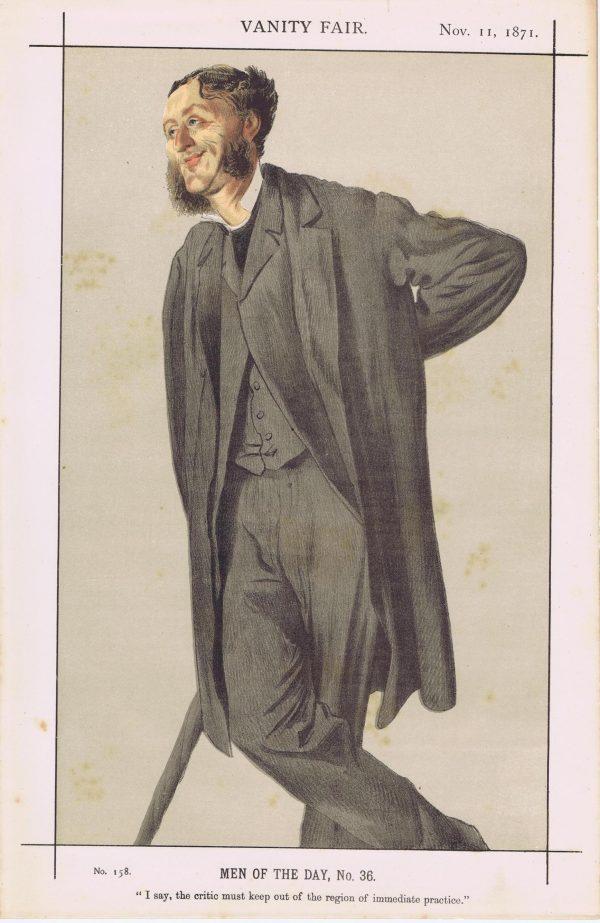 Rugby School Matthew Arnold Vanity Fair Print