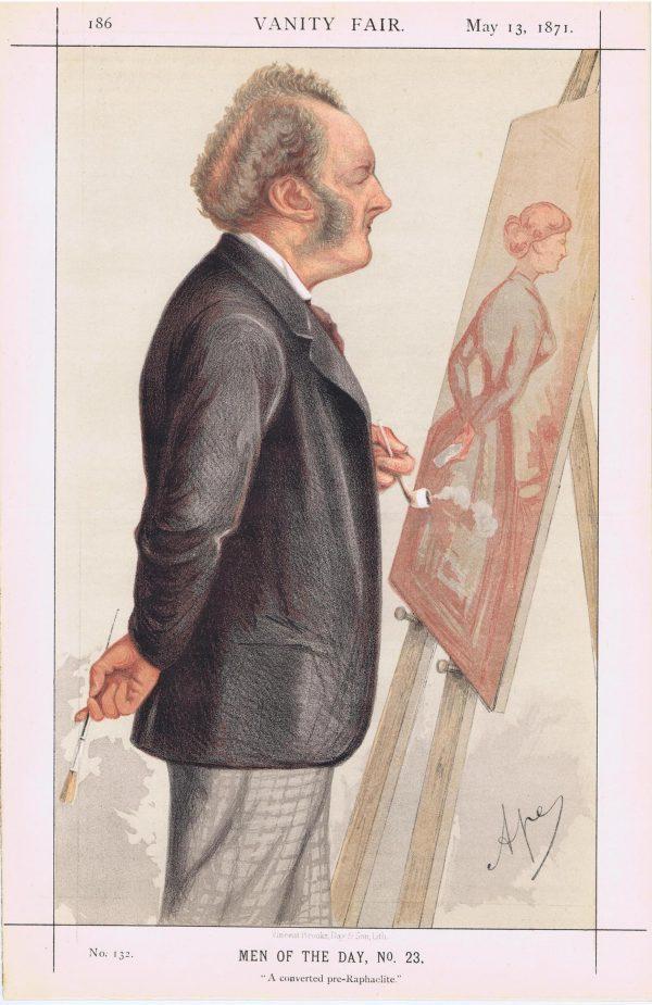 John Everett Millais Vanity Fair Print 1871