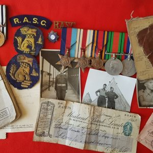 CHINDIT WW2 Medal Group
