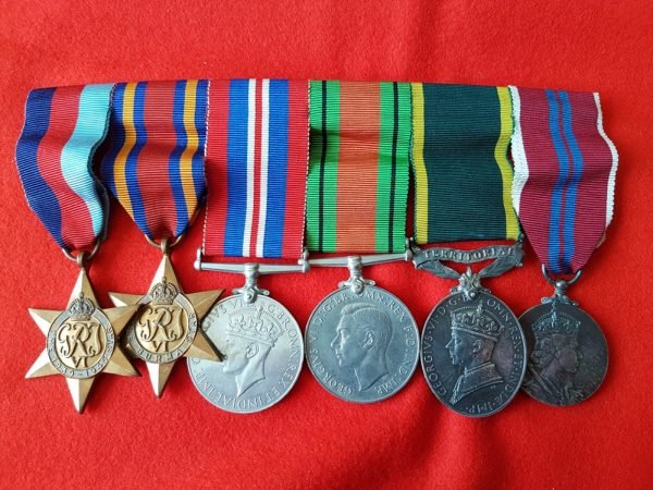 WW2 Burma Campaign Territorial Medal Group