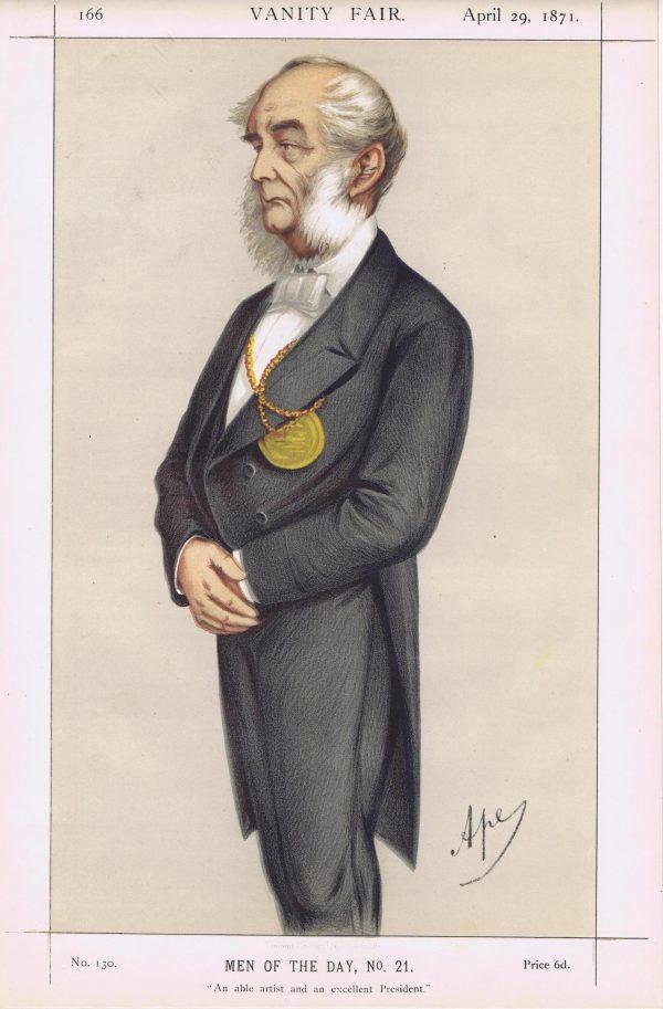 Sir Francis Grant Vanity Fair Print 1871