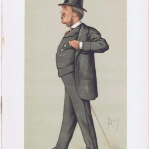 Spencer Lyttleton Vanity Fair Print 1875