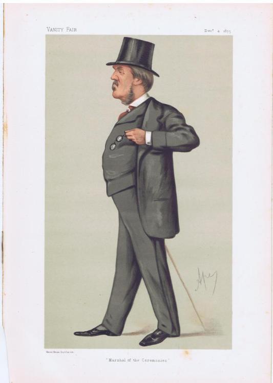 Spencer Lyttleton Vanity Fair Print 1875