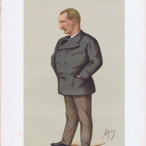 Matthew Webb Vanity Fair Print 1875